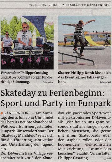 Bezirksblatt - Juni 2016