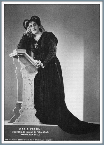 DON CARLO - Elisabetta di Valois - Milano Teatro alla Scala