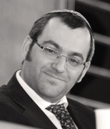 Will Kindern jüdischer Väter helfen: Rabbiner Avichai Apel. Foto Rabbinat Dortmund