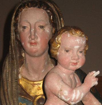 sculptures polychromes