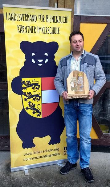 Kärntner Bär in Gold: Gernot Ortner (BZV Dellach/Drau)