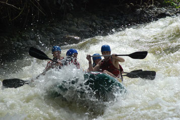 Combo Canopy Tour & Rafting Class 2 - 3