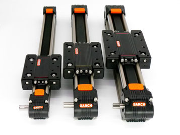 linear guide actuator, belt drive, modular linear guide rail, linear, guide, belt, drive,