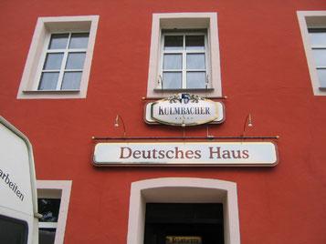 Deutsches Haus Kulmbacher