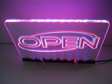 Open Lichtfluter