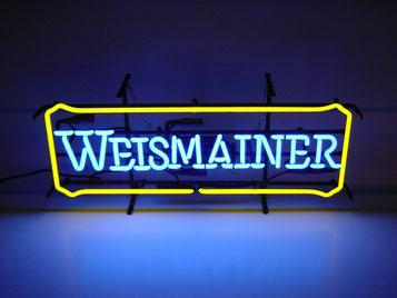 Neon Sign Weismainer Leuchtschrift