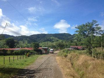 Desde Rio Chiquito hasta Santa Elena - Monteverde
