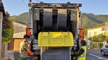 Service des ordures ménagères de la Communauté de Communes des Pyrénées Audoises