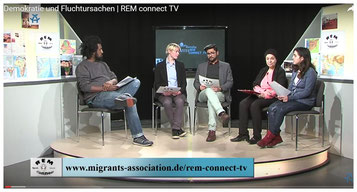 REM connect TV * WETV - Livestreamsendungen auf Alex-Berlin-TV seit 2011