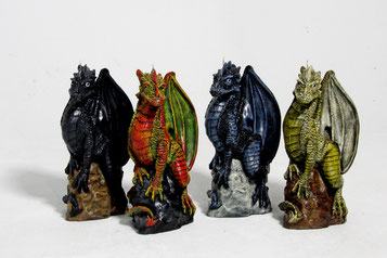Drachenkerzen Kerzen Figurenkerzen Gothic Kunsthandwerk Drache Drachen Fantasy maramirage Braunschweig Eule Wolf Elefant FuchsWerner Mühlenberg snakemanofbrunswickDesignkerzen Handarbeit dragon handmade wachs kerze