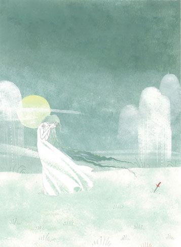 Rusalka-le couteau-Clémence Meynet illustration