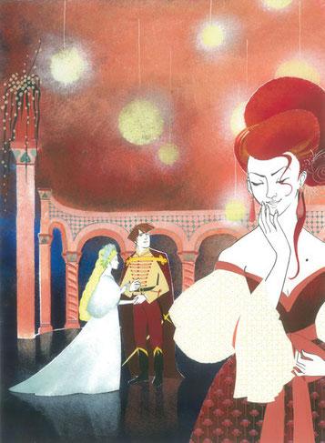 Rusalka-Kněžna-Clémence Meynet illustration