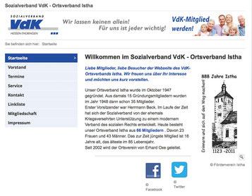 (C) Homepage VdK Istha