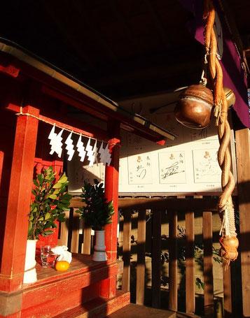 ●瀧神社は東京競馬場に近く、騎手の参拝も多いようで、人気ジョッキーの色紙が数多く奉納、飾られていました