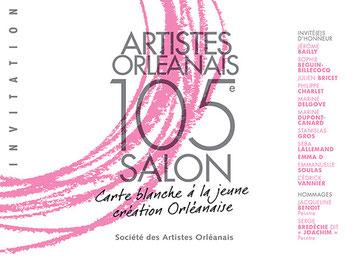 Claude Rossignol - Affiche 105è Salon des Artistes Orléanais 2012