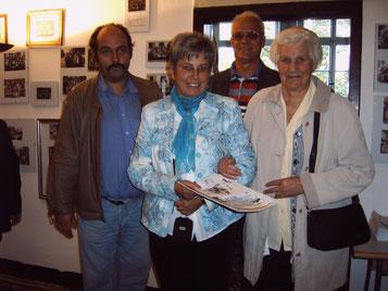 500 Besucher Frau Ilona Müller aus HBS  gebürtig aus Dedeleben am 09.09.2007