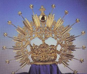 Corona de reina.