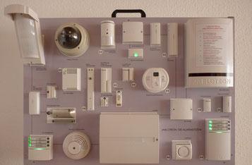 Vorführsystem Alarmtechnik