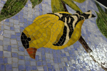 Grouted detail.