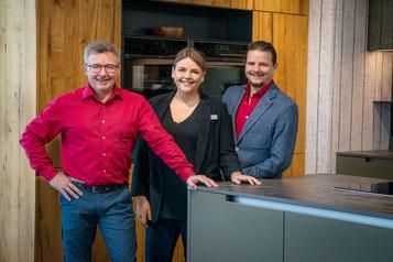 Benedikt, Helmut und Melanie Spannrad