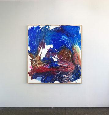 Sans titre n°12, dim. 102 x 93 cm, 2021