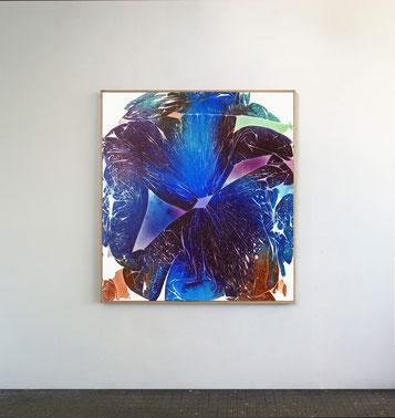Sans titre n°9, dim. 102 x 93 cm, 2021