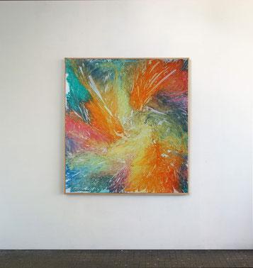 Sans titre n°5, dim. 102 x 93 cm, 2021