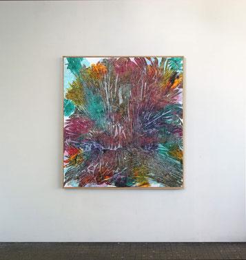Sans titre n°7, dim. 102 x 93 cm, 2021