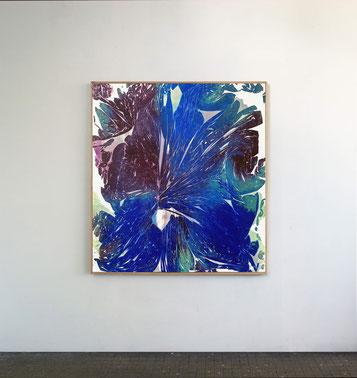 Sans titre n°10, dim. 102 x 93 cm, 2021