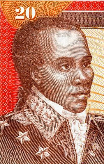 Doc 17_Toussaint Louverture,  billet de Banque haïtien