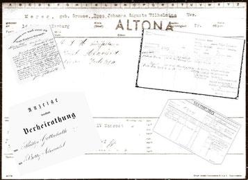 Ahnenforscher Recherche-Dienst Hamburg