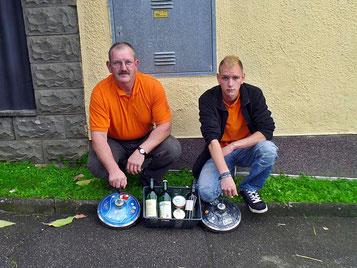 Duo Mistelbach 3.Platz wegen Regen abbruch