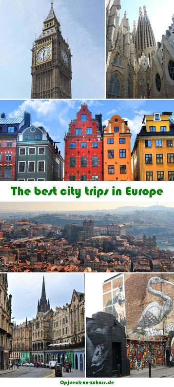 Best city trips in Europe