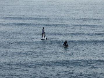 小波だったけど海に入れば気分もスッキリですね~(^_^)/