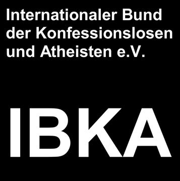 IBKA Internationaler Bund der Konfessionslosen und Atheisten Logo