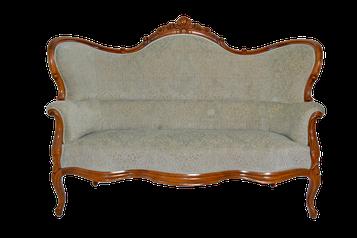 Sofa gepolstert restauriert antik pompoes ausgefallen elegant Schowalter Pfalz