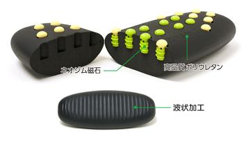 マグニットクッション本体の材質・デザインのこだわり。