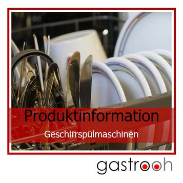 Infos gewerbliche Geschirrspülmaschinen