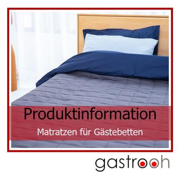 Infos Matratzen für Gästebetten
