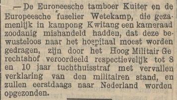 Het nieuws van den dag voor Nederlandsch-Indië 22-05-1906