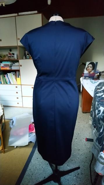 "Rückenteil: ""Dress for Success"" aus Burdastyle 8/2017, Mod. 119 © GriseldaK 2019"