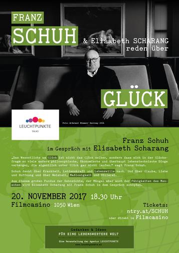 Leuchtpunkte Talks: Franz Schuh