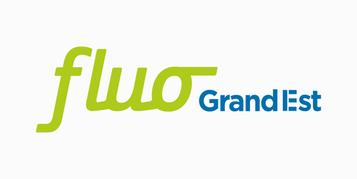 Logo du réseau de transport fluo grand est