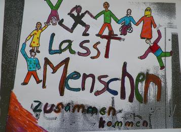 """Workshop """"Mit bunten Farben gegen braune Parolen"""" - 23. Juni 2016 - Pforzheim - Theodor-Heuss-Gymnasium"""