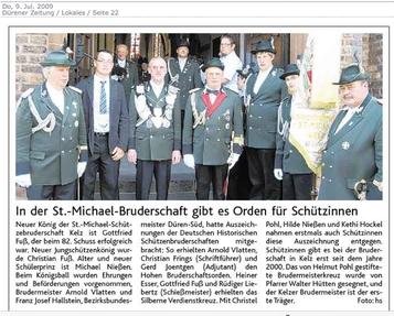 Dürener Zeitung 09.07.2009