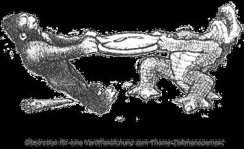 Webdesign/Grafikdesign: Illustration für eine Veröffentlichung zum Thema Zeitmanagement