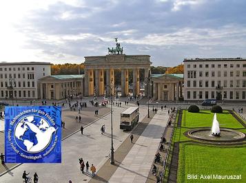 Pariser Platz in Berlin Veranstaltungsort Mahnwachen Berlin