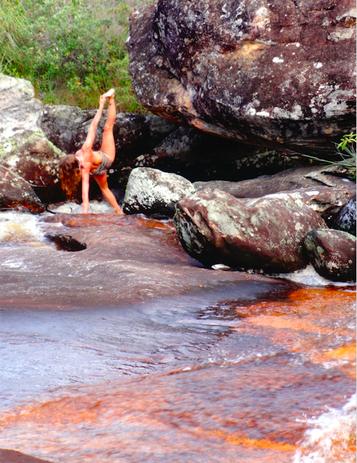 Sunny Samadhi Sunny Sky Yogalehrer Brasilien Minas Gerais