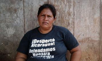Bøndernes talskvinde Doña Francisca Ramírez