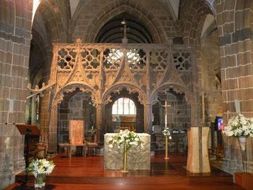 Jubé basilique Notre-Dame du Folgoët